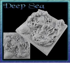 50 x 50mm Deep Sea Base A