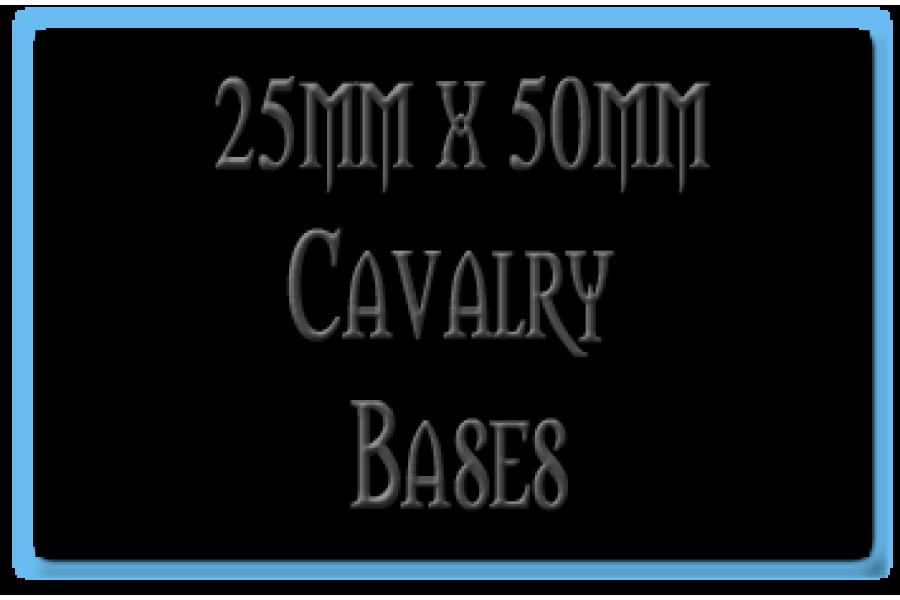 25 x 50mm Bases