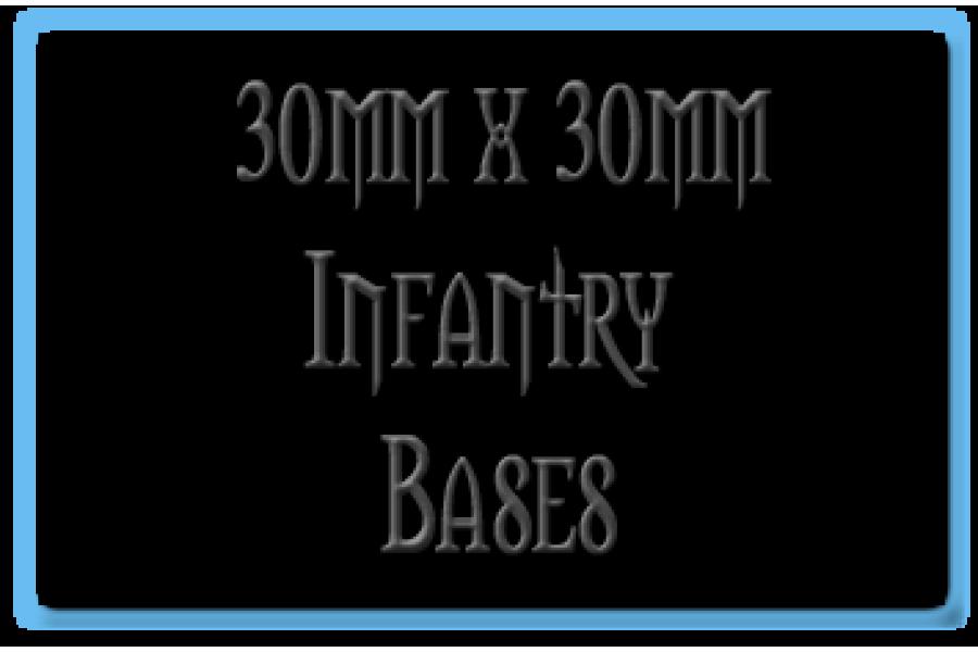 30 x 30mm Bases