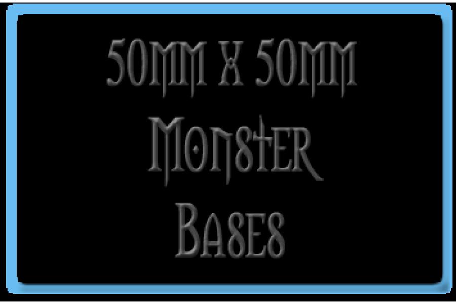 50 x 50mm Bases