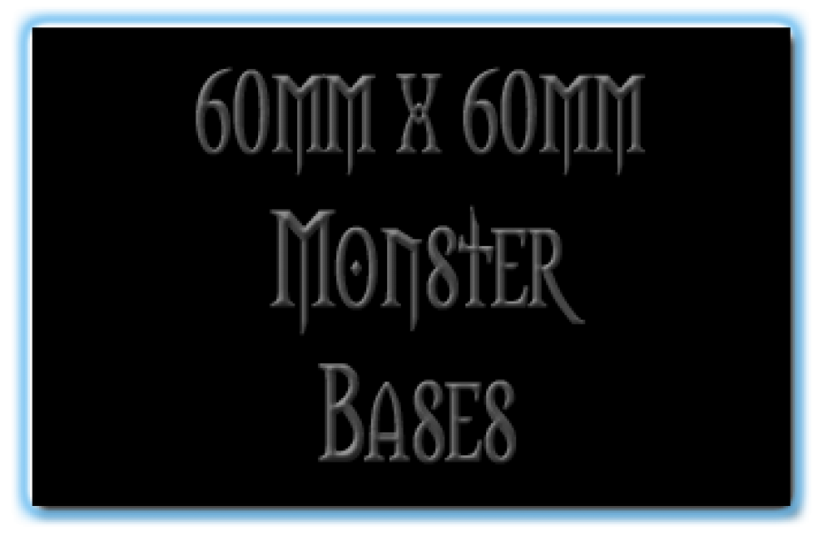 60 x 60mm Bases