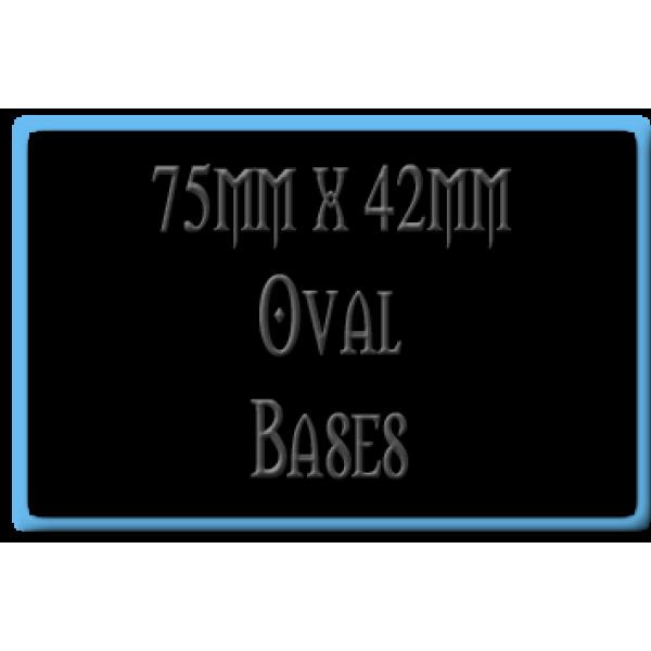 75 x 42mm Bases