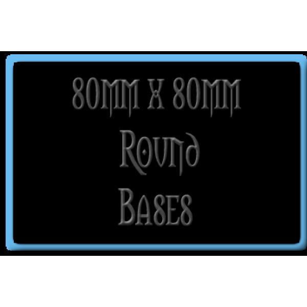80 x 80mm Bases