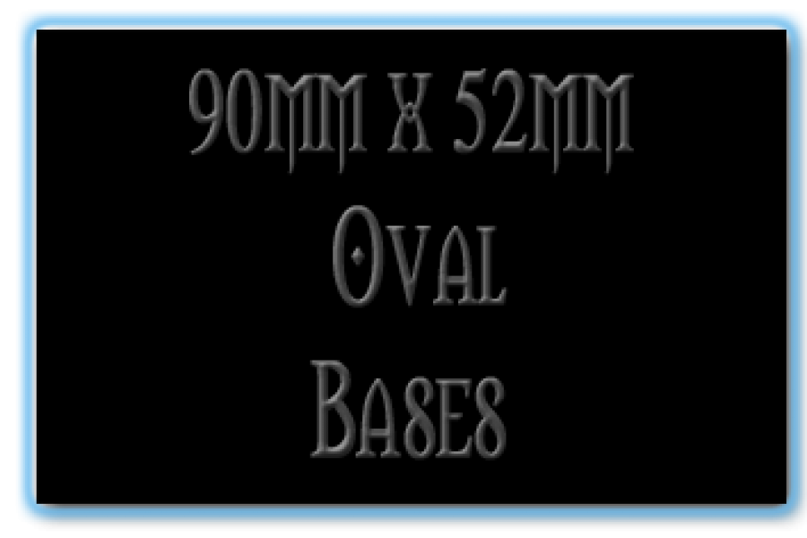 90 x 52mm Bases
