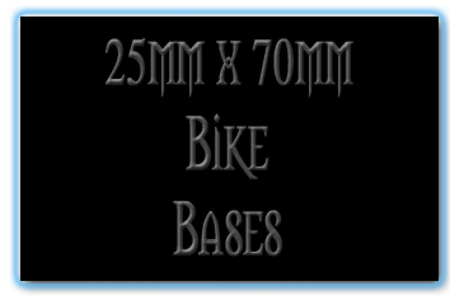 25 x 70mm Bases