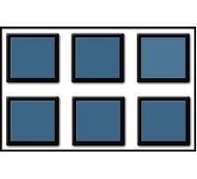 Custom SKIRMISH Tray / 40mm Bases / 3 rows wide - 2 ranks deep
