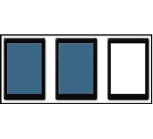 Custom SKIRMISH Tray / 50 x 75mm Bases / 2 rows wide - 1 rank deep