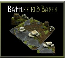 100 x 100mm Battlefield Base