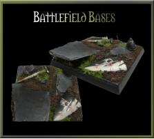 40 x 40mm Battlefield Base B