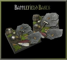 50 x 50mm Battlefield Base A