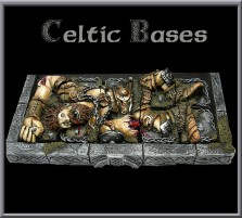20 x 20mm Celtic Fallen Giant Bases - Set of 10