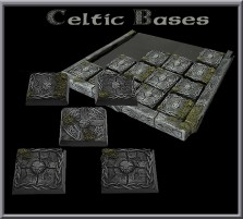 20 x 20mm Celtic Bases - Set of 5