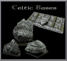 20 x 20mm Celtic Oathstone Base