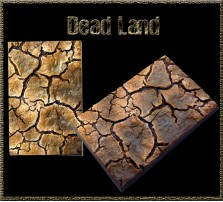 50 x 75mm Dead Land Base A