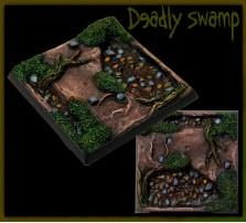 40 x 40mm Deadly Swamp Base B