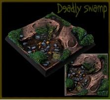 40 x 40mm Deadly Swamp Base C