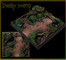 50 x 50mm Deadly Swamp Base A
