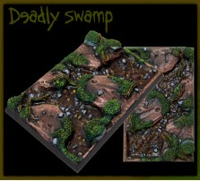 50 x 75mm Deadly Swamp Base A