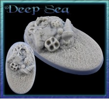 60 x 35mm Deep Sea Oval Base A