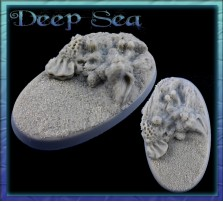 60 x 35mm Deep Sea Oval Base B