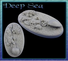 90 x 52mm Deep See Oval Base B