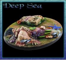 120 x 92mm Deep Sea Oval Base A