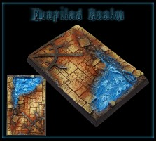 50 x 75mm Defiled Realm Base A