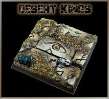 40 x 40mm Desert Kings Base A