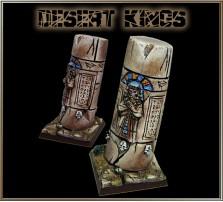 40 x 40mm Desert Kings Base D