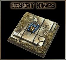 40 x 40mm Desert Kings Base B