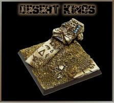 40 x 40mm Desert Kings Base C