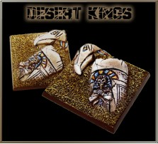50 x 50mm Desert Kings Base A