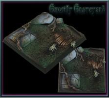 40 x 40mm Ghostly Graveyard Base B