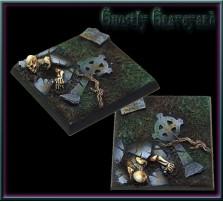 40 x 40mm Ghostly Graveyard Base C