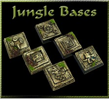 20 x 20mm Jungle Bases - Set of 5