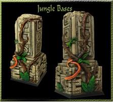40 x 40mm Jungle Base D