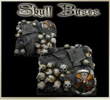 40 x 40mm Skull Base B
