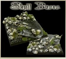 50 x 50mm Skull Base B