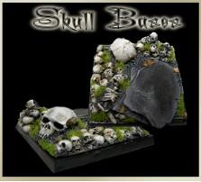 50 x 50mm Skull Base C