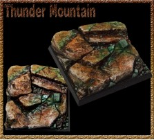 50 x 50mm Thunder Mountain Base A