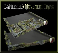Battlefield Movement Tray 5x5 for 20mm Bases