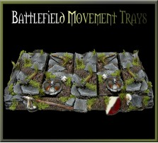 Battlefield Movement Tray 5x2 for 25mm bases