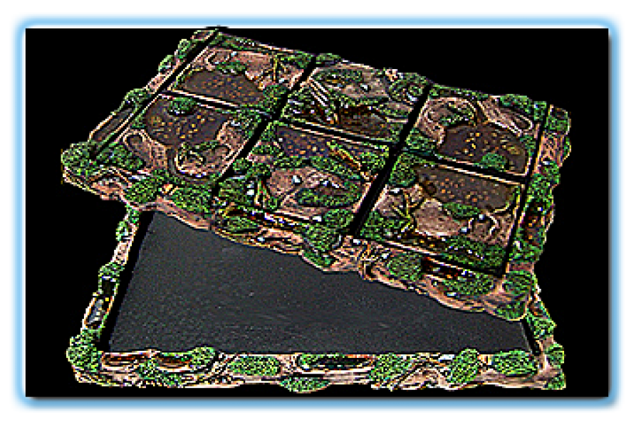 Deadly Swamp Movement Trays