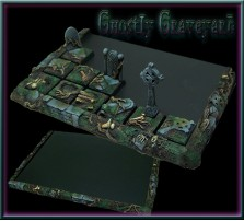 Ghostly Graveyard Movement Tray 6x4 for 20mm Bases