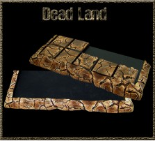 Dead Land Movement Tray 5x2 for 20mm Bases