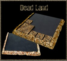 Dead Land Movement Tray 5x5 for 20mm Bases