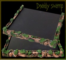 Deadly Swamp Movement Tray 5x5 for 20mm Bases