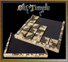 Old Temple Movement Tray 5x5 for 20mm Bases