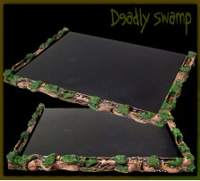Deadly Swamp Movement Tray 6x4 for 20mm Bases