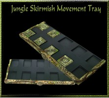 Jungle SKIRMISH Tray 5x2 for 20mm Bases